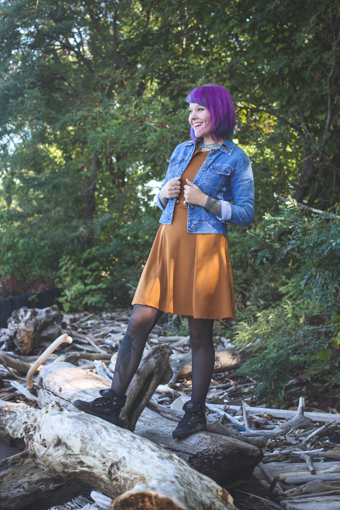 kaylah doolan, palladium boots, the dainty squid, ootd, outfit post