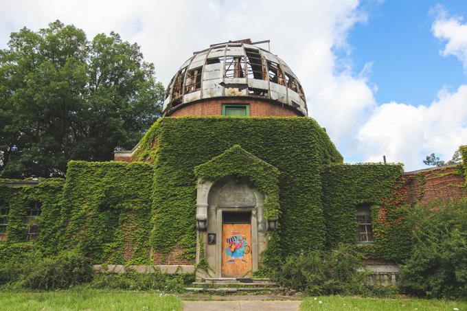 Cleveland, Abandoned, Observatory,