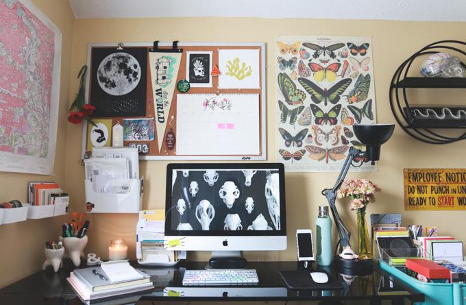 computer, blogger, office