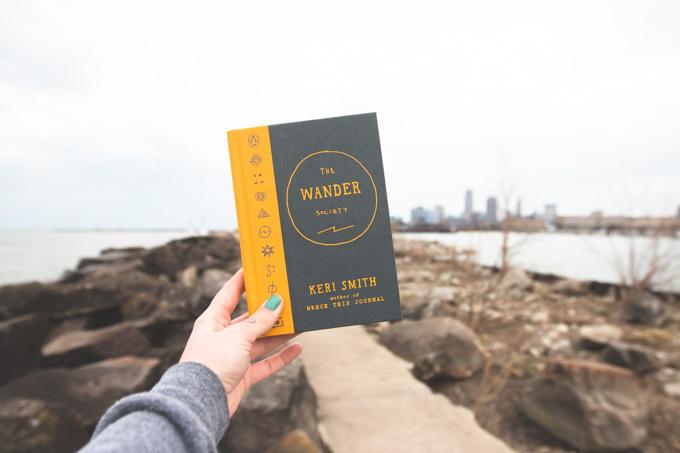 Keri Smith, book review, wander society