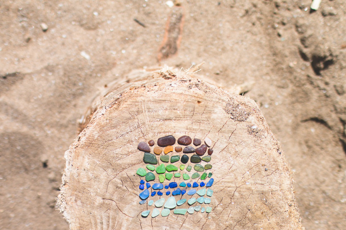 lake erie, cleveland, beach glass, mermaid tears