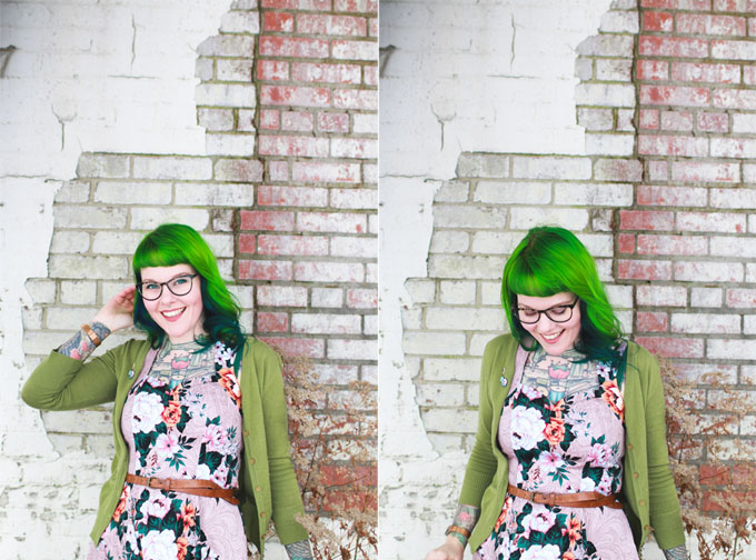 green hair, the dainty squid, cleveland, fashion blog, banned clothing